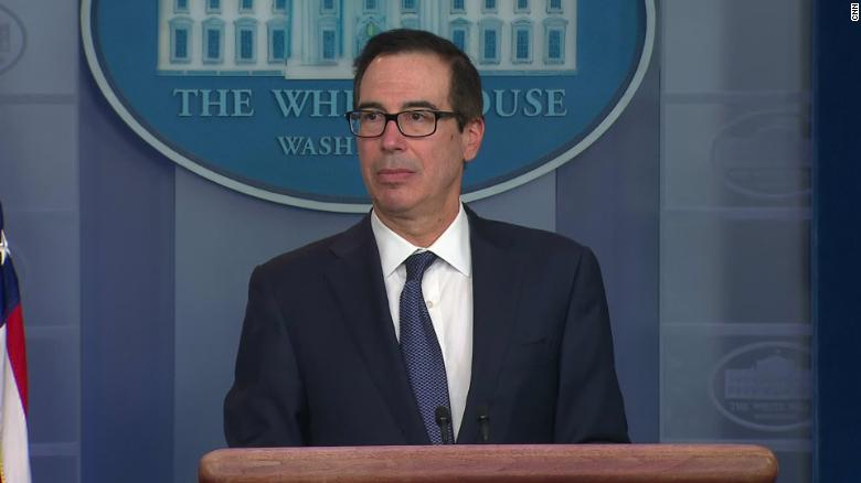 Mnuchin opposing Secret Service presidential-travel cost disclosures until after election