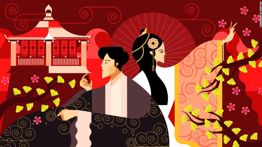 何世紀も昔の中国のファッションで復活
