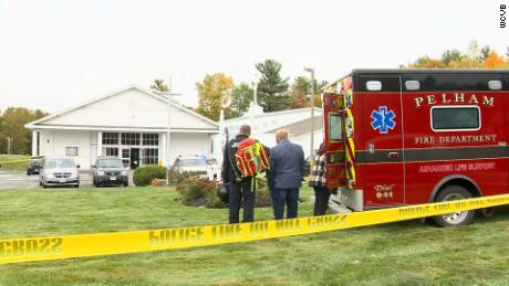 Two injured in shooting at wedding in New Hampshire church