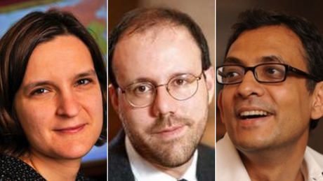 Nobel Prize in economics awarded to trio for work on poverty. One is the youngest winner ever