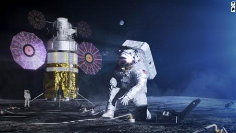 NASA shows off new spacesuits for future moon missions