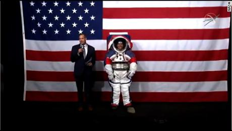 NASA unveils new spacesuits for upcoming Moon mission