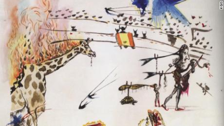 A man walked into a San Francisco art gallery and left with a $20,000 Salvador Dali etching