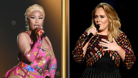 Nicki was being 'sarcastic' about collaborating with Adele