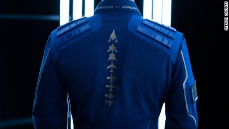 Under Armour & Virgin Galactic Debut Space Suit With Boots for Amateur Astronauts