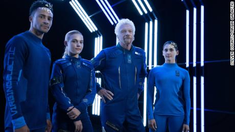 Virgin Galactic and Under Armour unveil spacesuits 'for the masses'