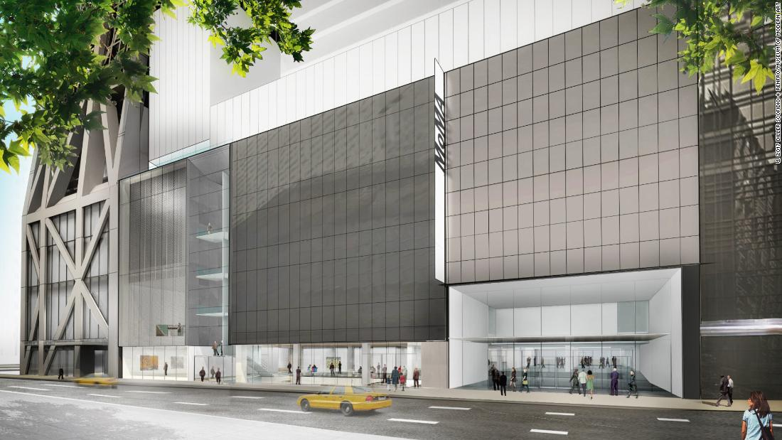 Museum Of Modern Art Reopens After 450 Million Expansion