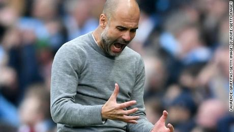 Guardiola's current contract with Man City ends in 2021.