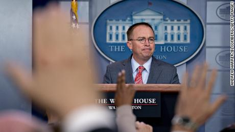Mulvaney brashly admits quid pro quo over Ukraine aid as key details emerge -- and then denies doing so