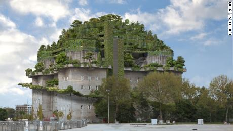 Huge Nazi bunker to house luxury hotel with lavish roof garden