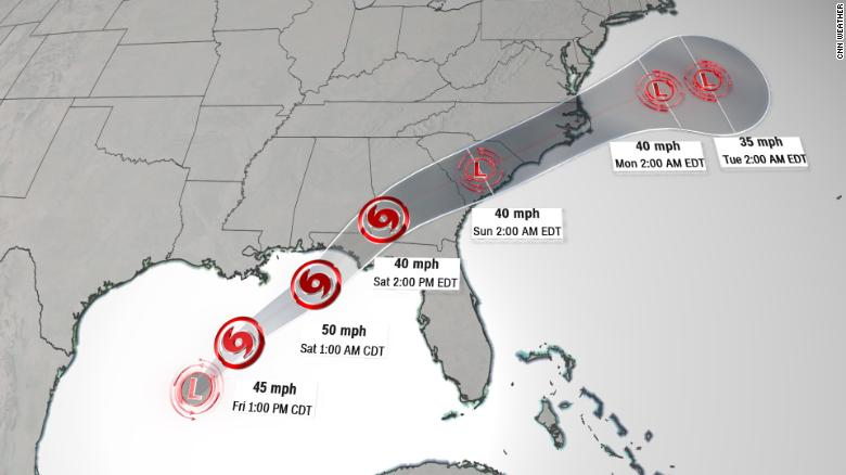 What can Alabama expect from potential storm Nestor?