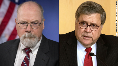 Barr appoints Durham as special counsel for investigation