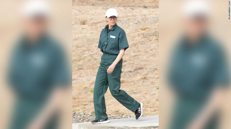 Felicity Huffman Shows Off New Jumpsuit During Family Visit to Prison