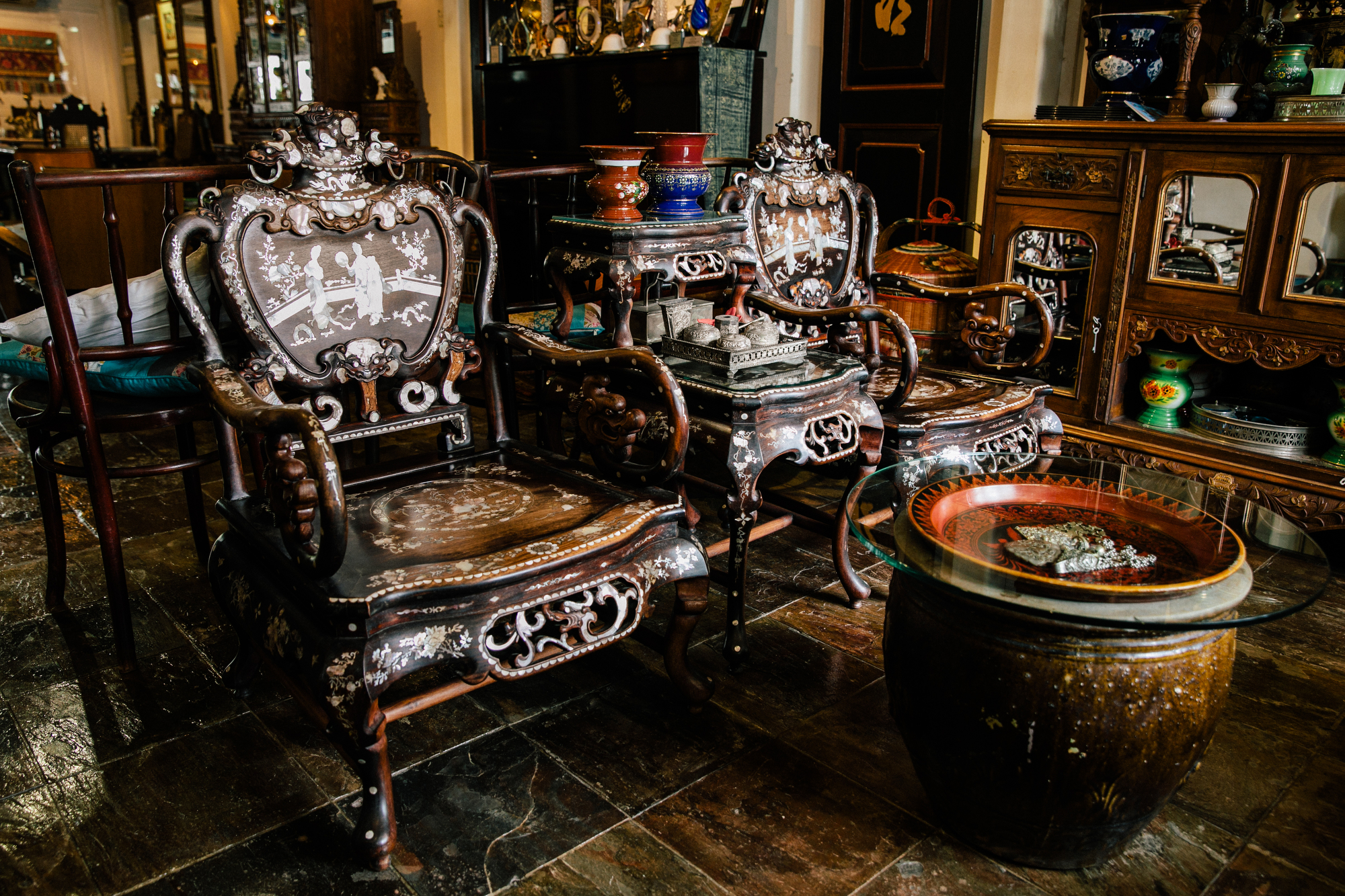 Marvelous Singapore Peranakan Antiques Collector Driven By Pure Ocoug Best Dining Table And Chair Ideas Images Ocougorg