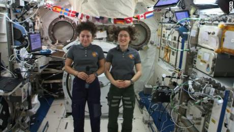 After an historic all-female spacewalk, astronaut has moon dream
