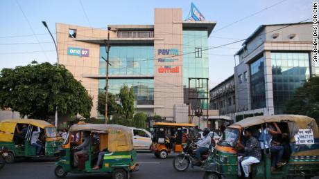Paytm's headquarters in Noida, India. (Saurabh Das for CNN)