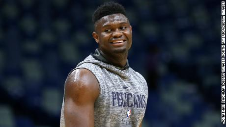 Pelicans announce expected return date for No. 1 pick Zion Williamson
