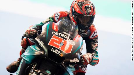 Fabio Quartararo wrapped up the Rookie of the Year competition.