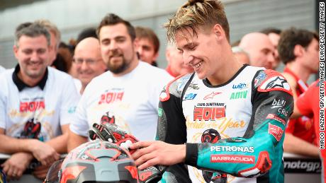 Quartararo is still only 20-years-old.