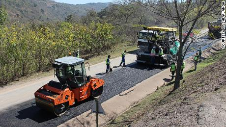 This company is using recycled plastic milk bottles to repave roads in South Africa