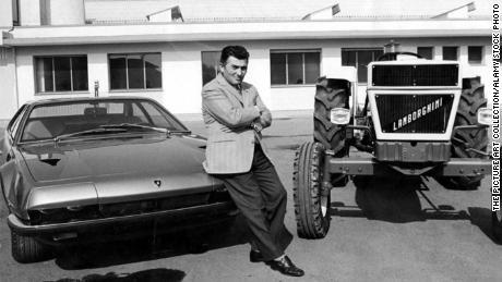 Lamborghini's founder, Ferruccio Lamborghini, decided to build his own cars. Previously, he ran a tractor company.