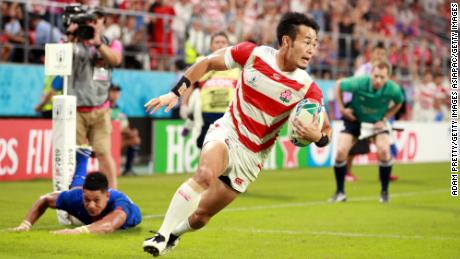Kenki Fukuoka embodied Japan's spirit during the Rugby World Cup, playing a key role as the host nation progressed to the quarterfinals.