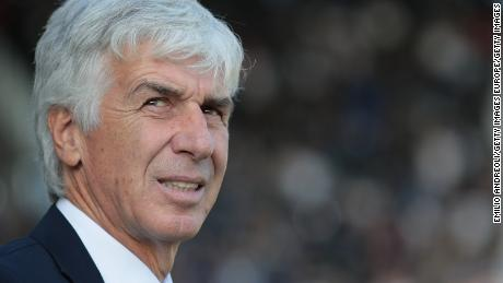 Atalanta coach Gian Piero Gasperin led his side into the 2019 Champions League for the first time in its history.