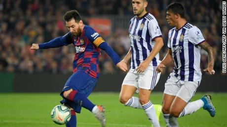 Lionel Messi éclipse Cristiano Ronaldo dans les buts du club