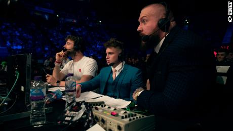 Weller was part of the commentary team that worked on KSI and  Paul's first fight. He worked alongside True Geordie and Laurence McKenna.