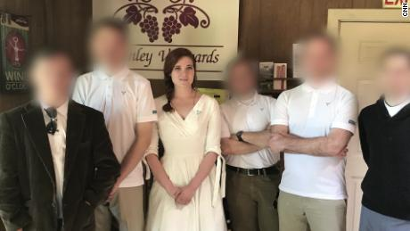 """Samantha booked a rental at a vineyard as an """"ironic"""" place for white supremacists to stay."""