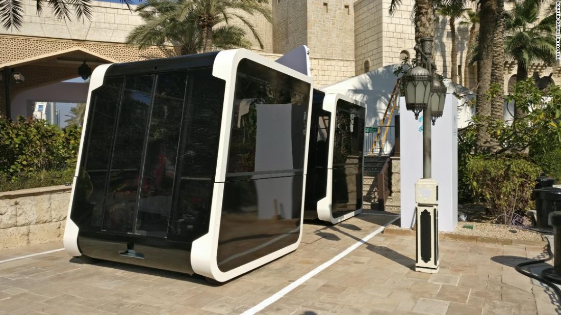 'Smart pods' blaze a trail for autonomous public transport