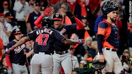 World Series Game 7: Washington Nationals defeat Houston Astros to clinch first World Series