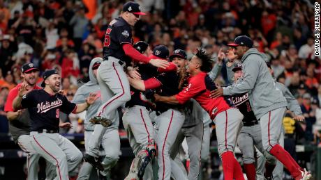 Democrats and Republicans celebrate Washington Nationals' World Series win
