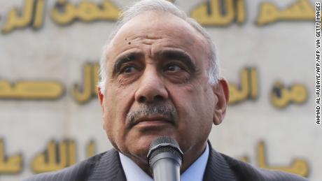 Iraq & # 39; s El primer ministro acepta renunciar, dice el presidente, después de semanas de protestas