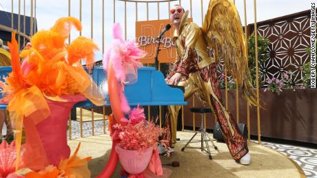 An exclusive facility for Melbourne Carnival week is The Bird Bath Bar.