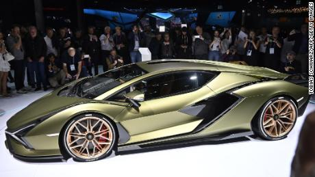 The Lamborghini Sián, a hybrid, uses a supercapacitor in addition to its V12 engine.