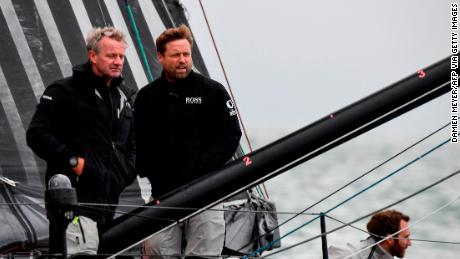 Thomson (right) and McDonald are vastly experienced ocean racers.