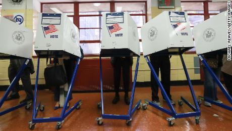 Election day in Kentucky, Mississippi and Virginia