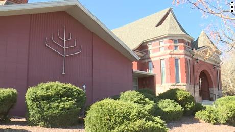 Temple Emanuel in Pueblo, Colorado, was allegedly the object of a bomb plot.