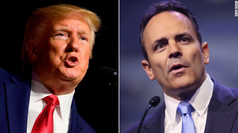 Gov. Bevin officially requests recanvass in general election