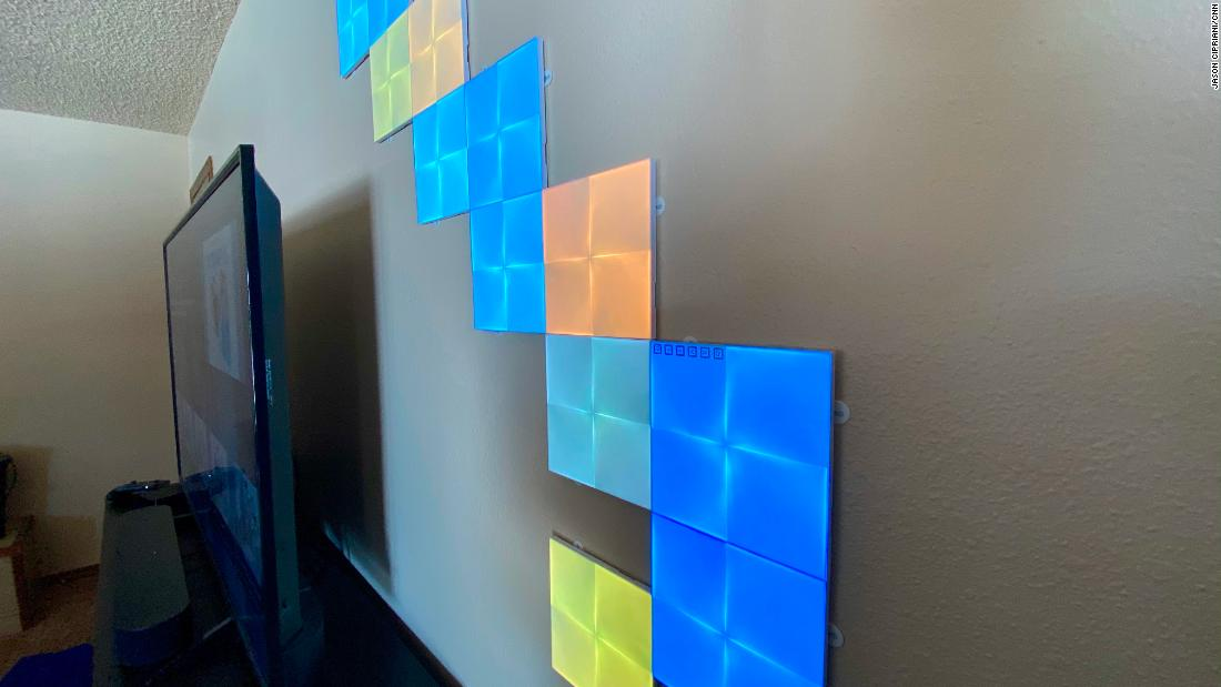 Nanoleaf's Canvas light-up panels are fun for the whole family