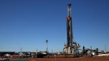 A fracking site in the oil town of Midland, Texas.