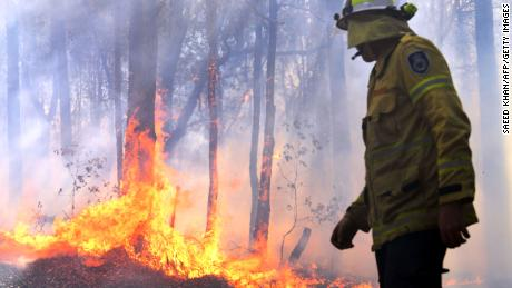 74 wildfires still raging in Australia