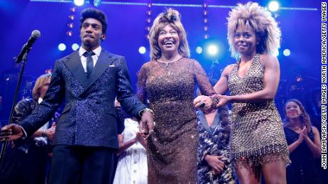 Tina Turner attends Broadway opening of 'Tina' musical