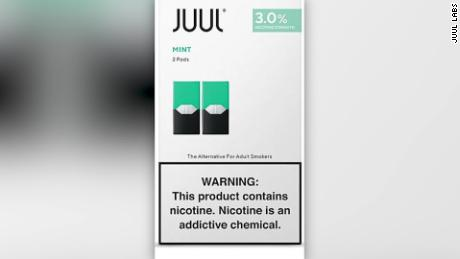 Juul Stops Sales of Mint-Flavored E-Cigarettes