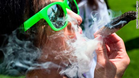 Marijuana use is rising among young adults, especially college students, study shows