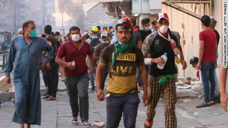 Irak protesta aumenta el número de muertos