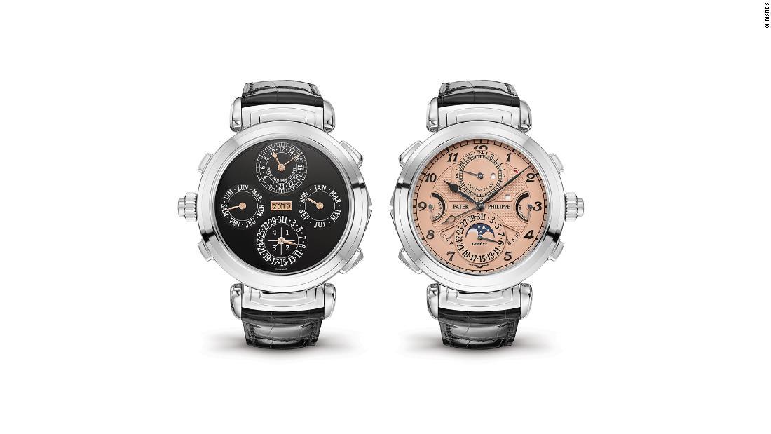 Luxus-Uhren verkauft für einen Datensatz $31 Millionen