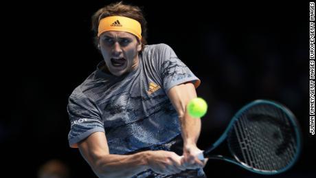 """Rafa Nadal irrité par la question du mariage """"bullsh **"""" après la défaite d'ATP Finals par Alexander Zverev"""