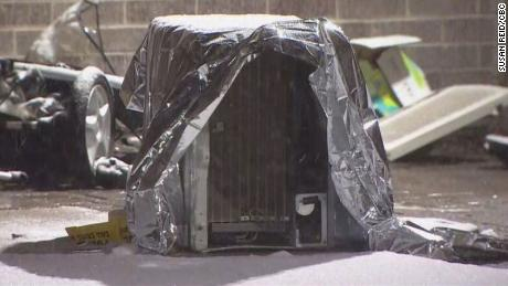 Toddler dies after being hit by falling air conditioner